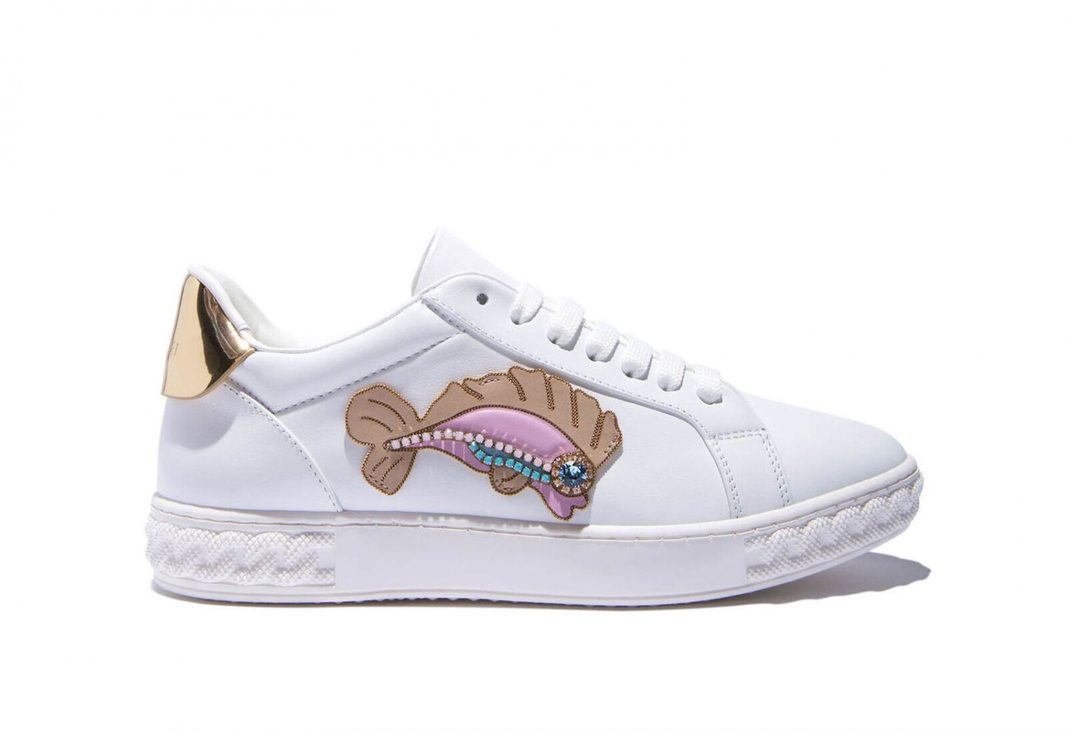 Casadei released sneakers with fish