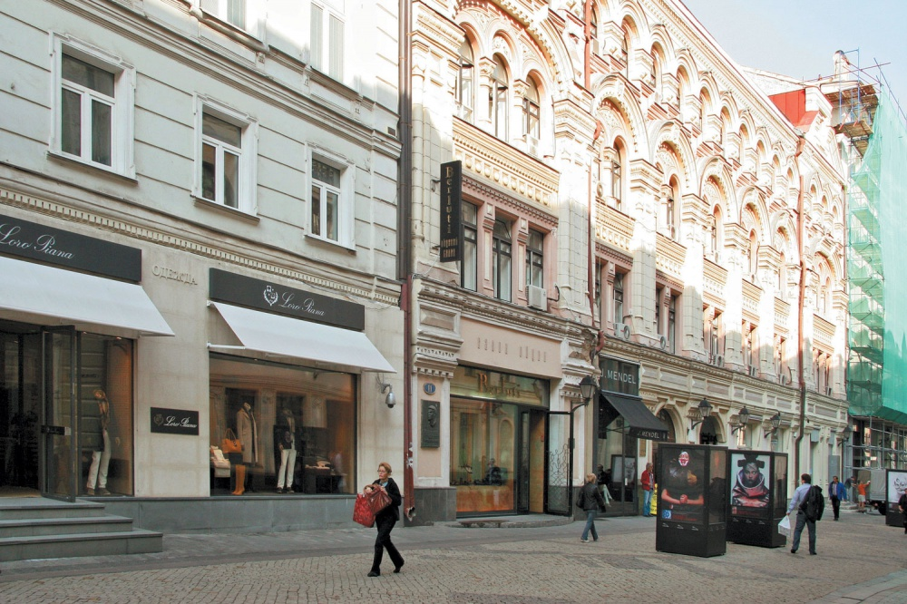 Stoleshnikov - in the top five most profitable streets in the world