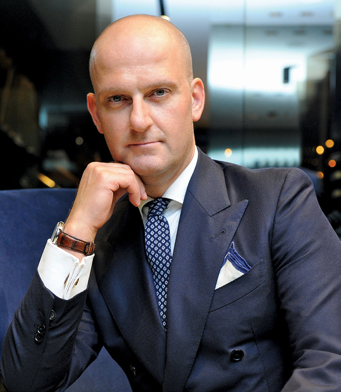 Giuseppe Santoni: designer, hedonist, Italian