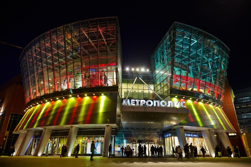 Nuevos centros comerciales en Moscú y regiones