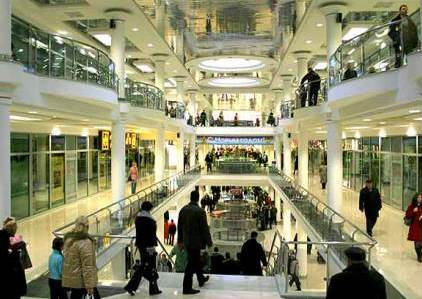 Petersburgers less likely to visit shopping centers