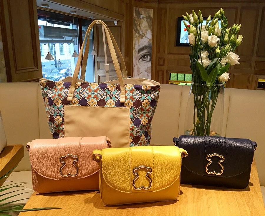 TOUS presented a collection of spring-summer'17 bags in Moscow
