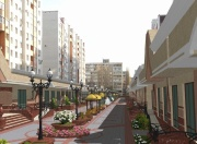 The first shopping street opened in Russia