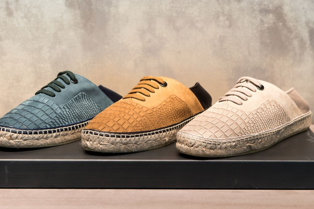 The Jimmy Choo men's collection is created based on the style of culture