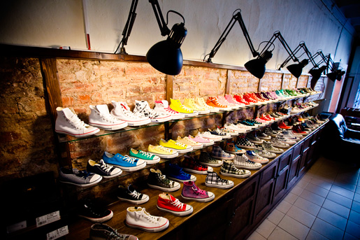 Converse brand new store opens in Moscow
