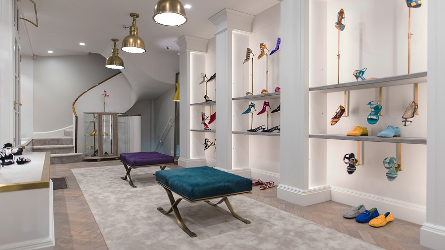 Manolo Blahnik is about to expand its flagship at Burlington Arcade