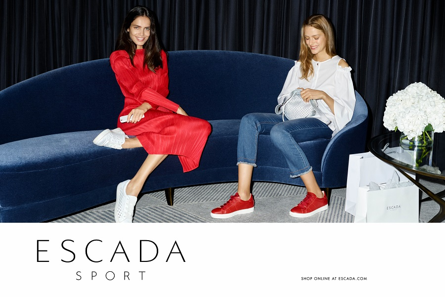 ESCADA launched an advertising campaign for the spring-summer collection 2017