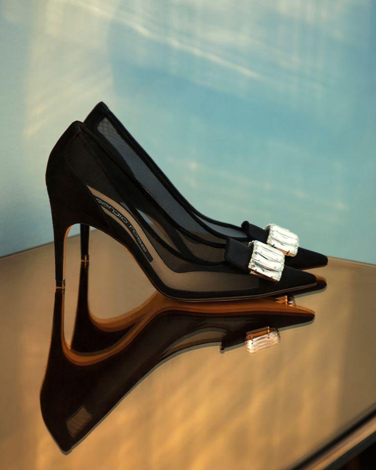 Italian shoe designer Sergio Rossi