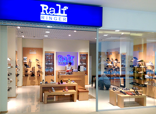 A new Ralf Ringer store has opened in Moscow