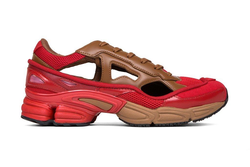 Raf Simons and adidas introduced a new collaboration