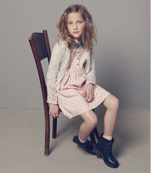 Mango brand presented a spring-summer collection for children