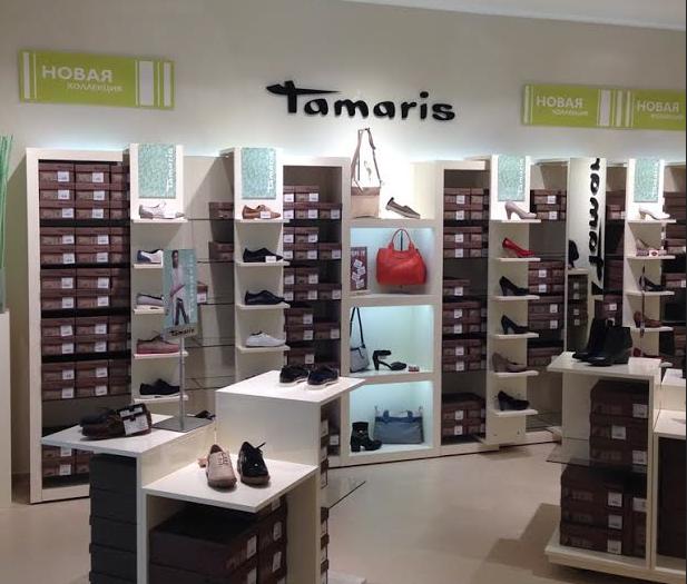 Tamaris has got a branded corner in the center of Kirov