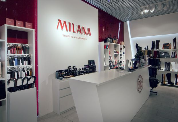 A new Milana store has opened in Moscow