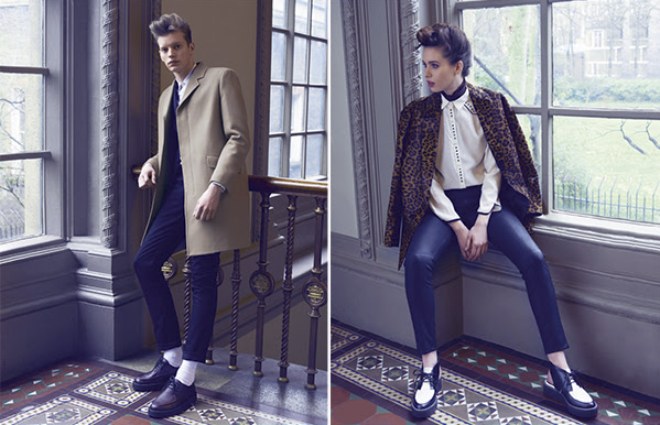 Clarks partnered with the Victoria and Albert Museum