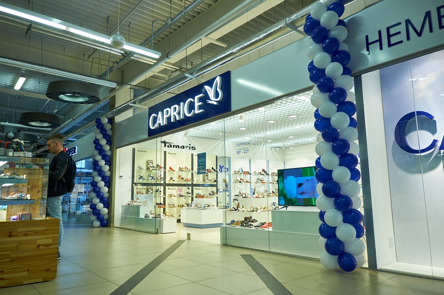 Caprice's second branded store opened in Minsk