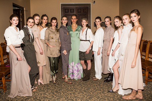A la Russe Anastasia Romantsova and Econika present the Spring-Summer 2016 collection