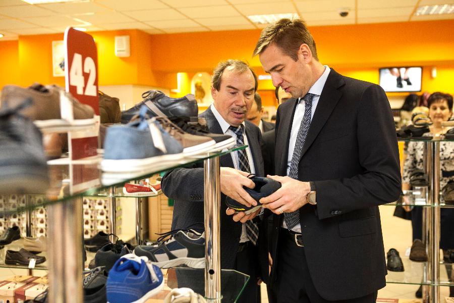 """Vladimir Denisenko, Unichel: """"Wenn Fälschungen aufgehoben werden können, wird die russische Schuhproduktion erheblich zunehmen"""""""
