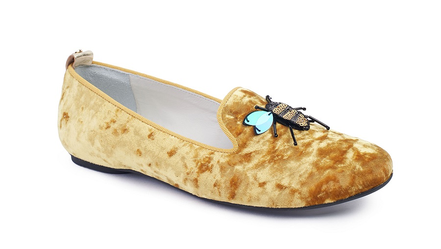 Jog Dog includes velvet loafers in its summer collection