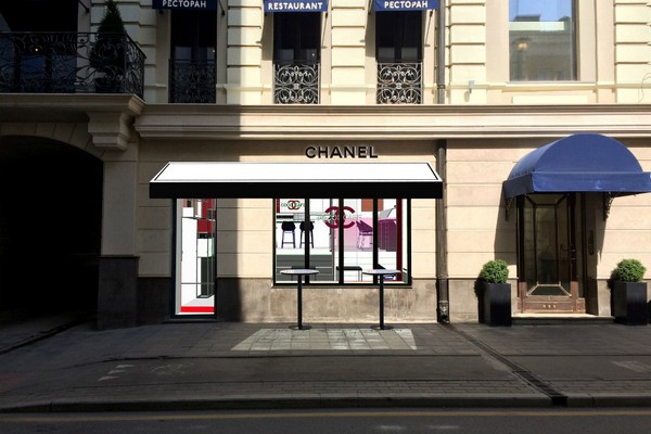 The ephemeral boutique Chanel will appear on Malaya Bronnaya in Moscow