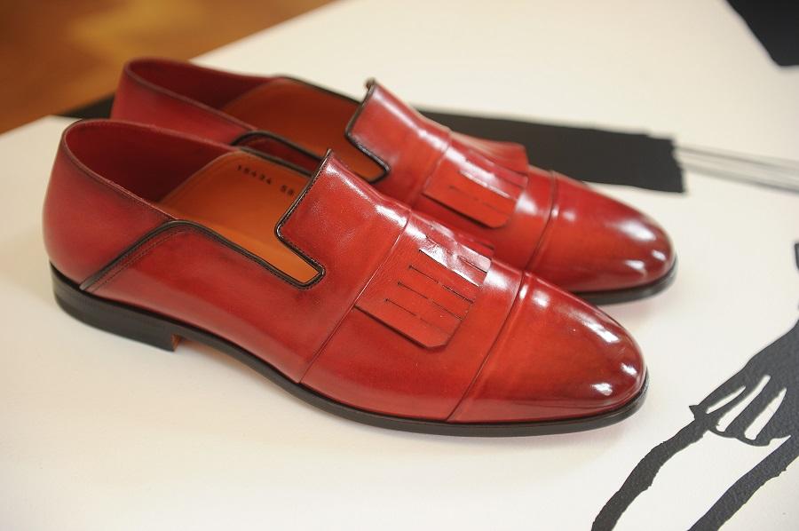 Boring elegance in the Santoni men's spring-summer'17 collection