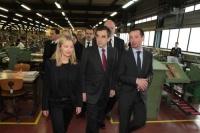 Der französische Premierminister besucht das Hauptquartier von Mephisto
