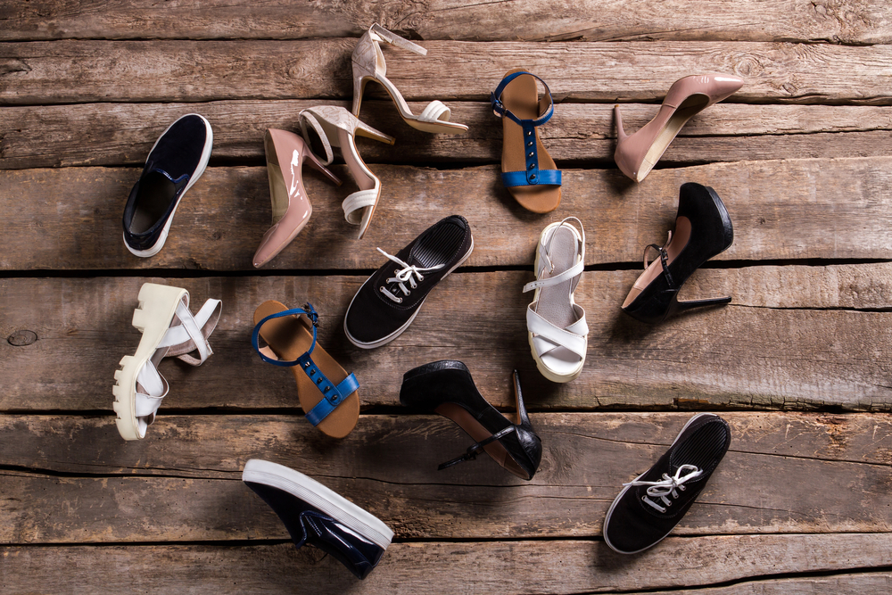 Optimization of balances in a shoe store
