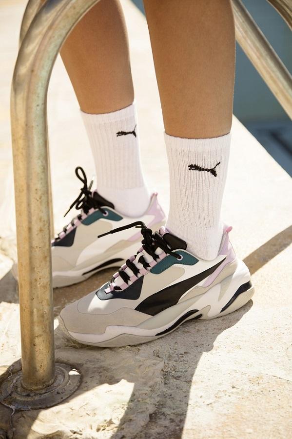 Puma updated Thunder shoe model in
