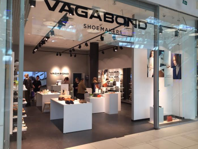 Vagabond store opened in the new gallery of the Metropolis shopping center