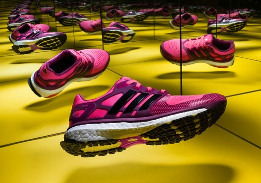 Adidas released a new model of running sneakers