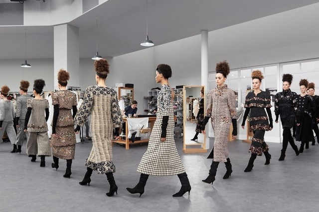 Chanel closes production sites