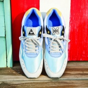 Le coq sportif created a collection with Sneaker Freaker magazine