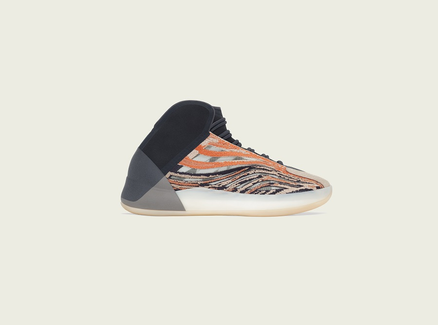 New adidas + YEEZY silhouette arrives - YZY QNTM Flash Orange