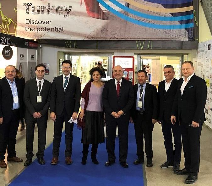 Euro Shoes Premiere Collection visited by Turkish Ambassador Mehmet Samsar