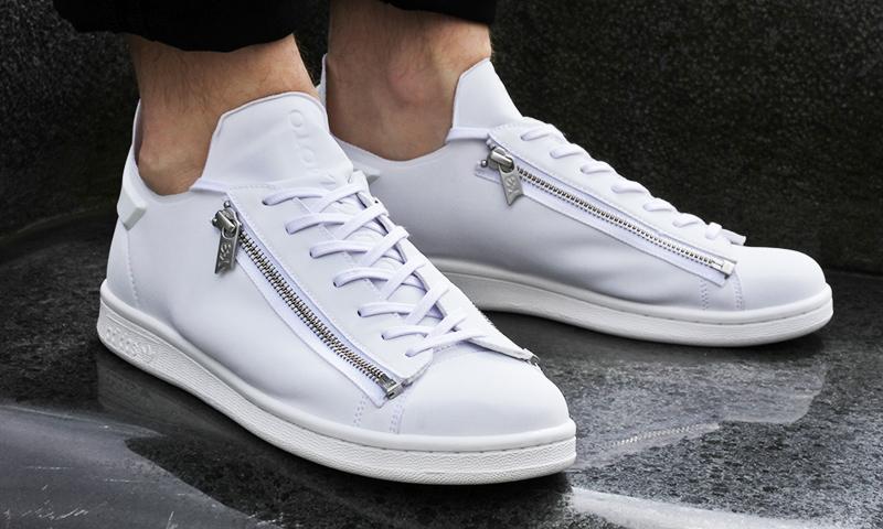 The new model of sneakers Y-3 STAN ZIP collaboration Adidas and Yohji Yamamoto