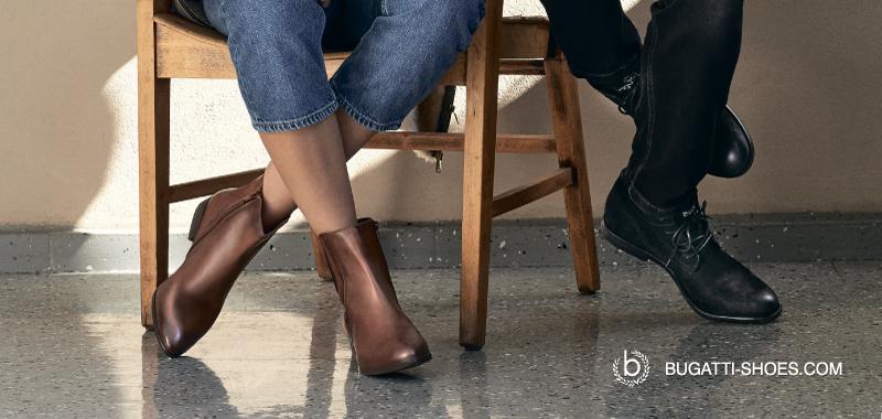 Bugatti Schuhe in Russland werden von Smart Futver präsentiert