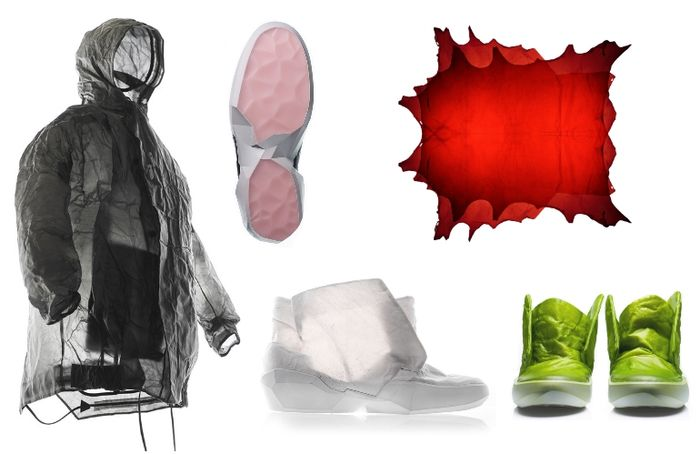 Ecco specialists have found a way to make the leather transparent