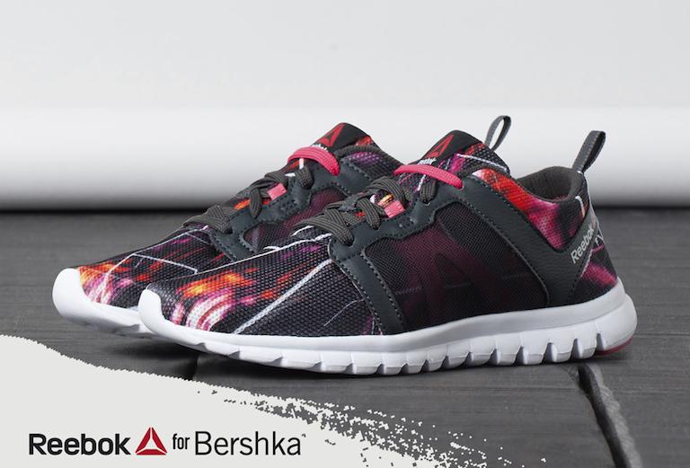 Bershka and Reebok Launch City Maps Sneakers