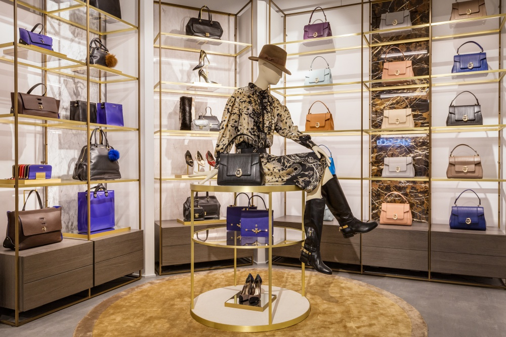 The new Trussardi collection in Moscow was presented by Tomaso Trussardi