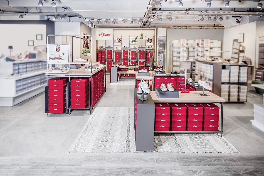 s.Oliver Shoes Introduces New Shop in Shop Retail Concept