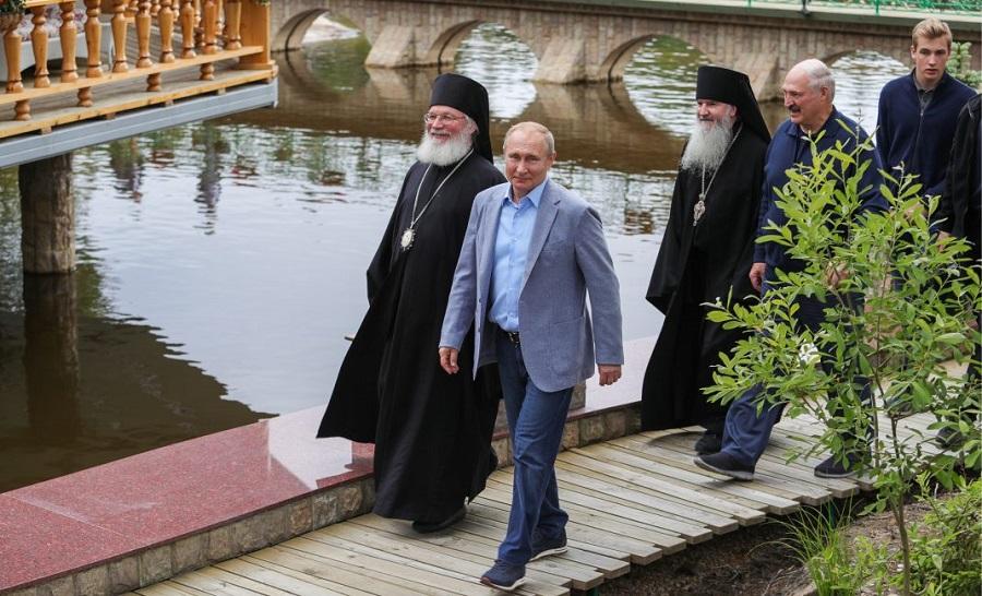 Vladimir Putin Chose Loro Piana Sneakers For A Trip To Valaam