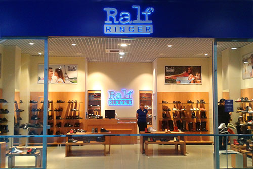 A new shoe store Ralf Ringer has opened in Moscow