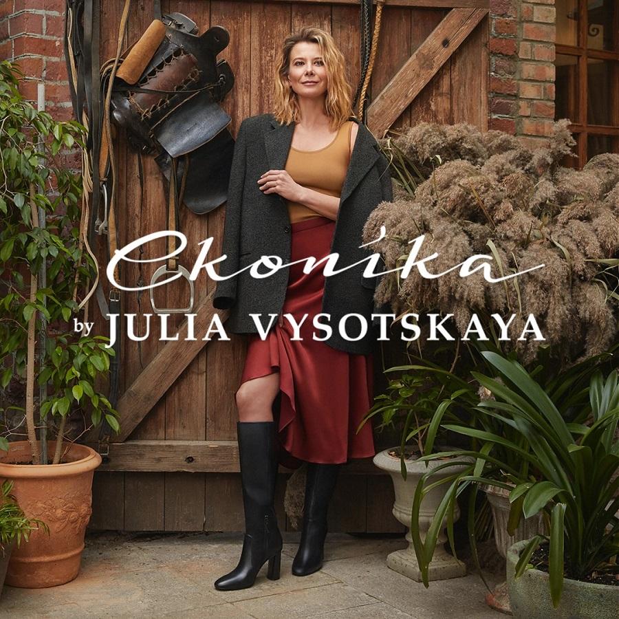 Econika lanzó la segunda colaboración con la actriz Yulia Vysotskaya