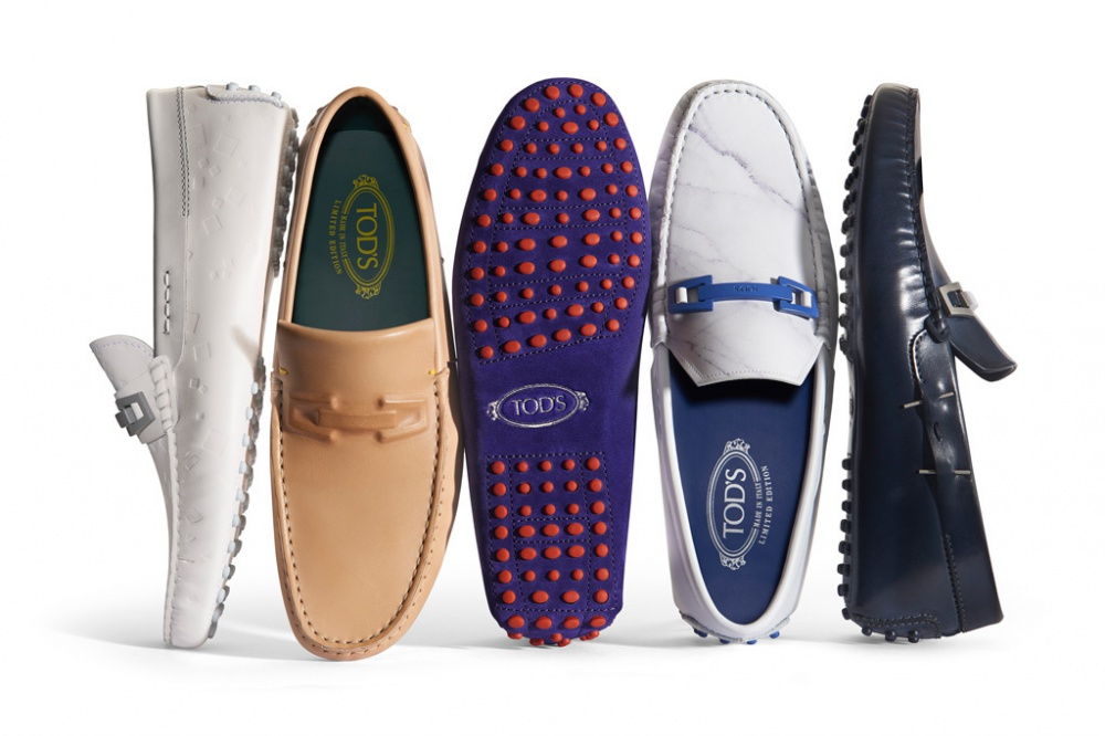 Five Tod's Moccasin Options
