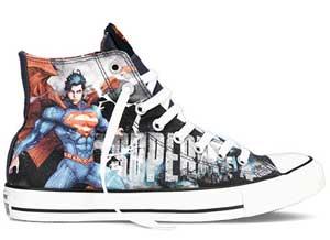 Converse and DC Comics mark 8 collaboration