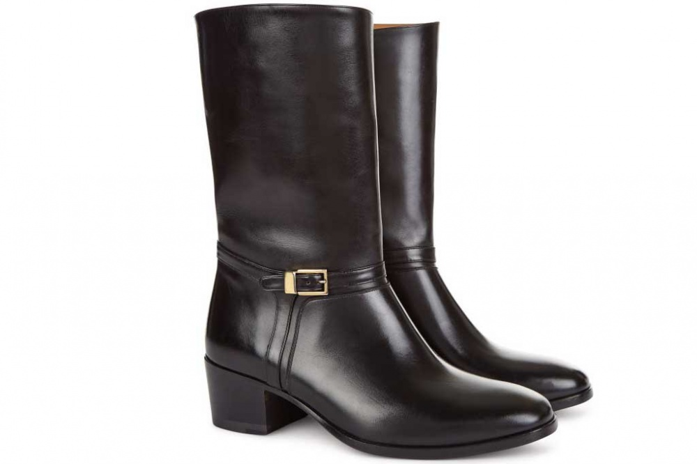 Bally introduced an updated version of the model boots Bally riding boot
