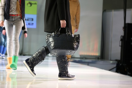 The fashion shows of the season's bestsellers were held as part of the Mosshoes