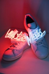 Moss, Campbell, and Minogue create sneakers for Adidas