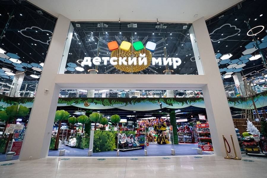 Revenue of Detsky Mir Group in 2020 increased by 11%