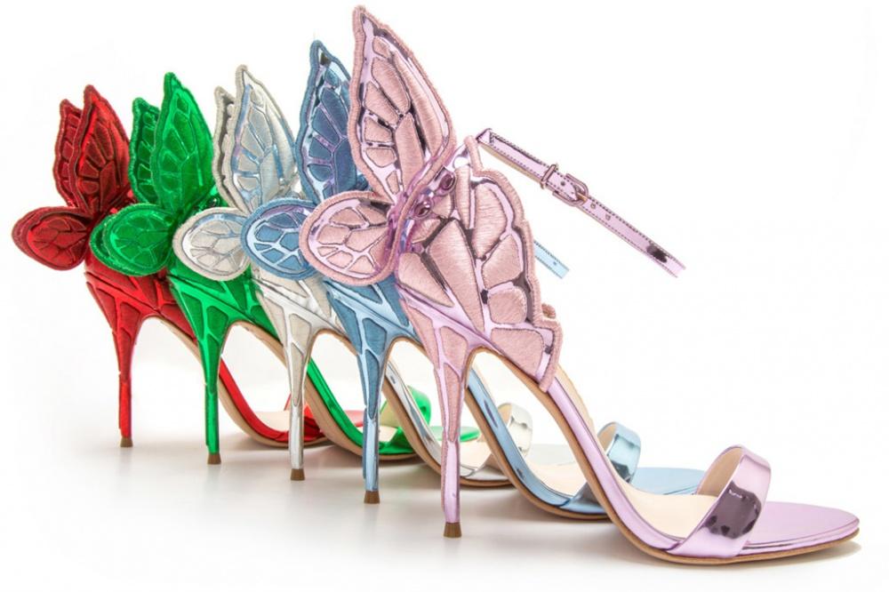 Collaboration of Dubai's luxury retailer Level Shoe District and London-based designer Sofia Webster