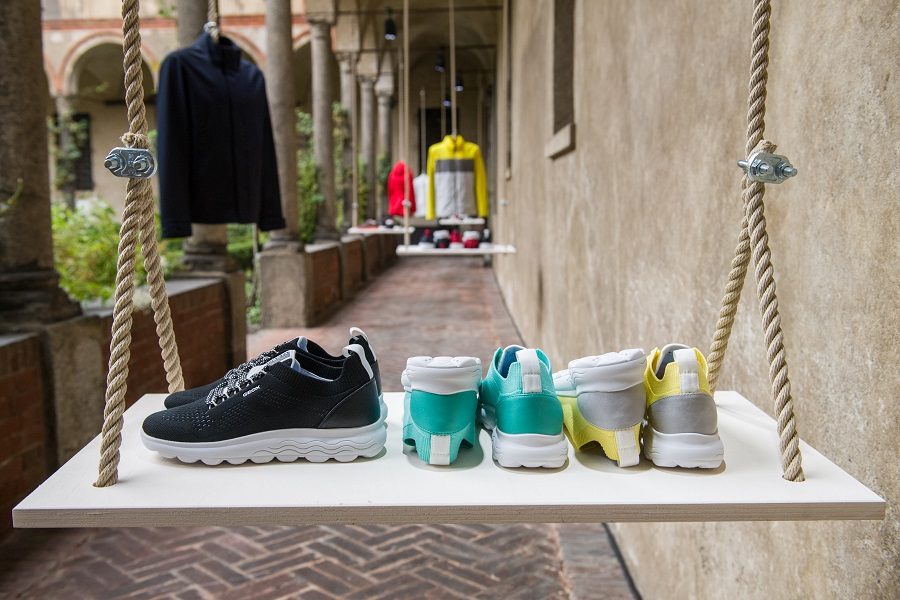 Reparación posible Resplandor Odiseo  Geox presented its spring-summer'21 collection in Milan